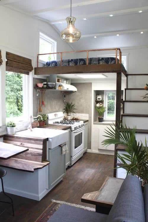 Decoraci n y dise o de interiores de casas peque as for Habitaciones pequenas aprovechar espacio