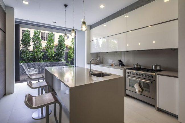 Cocinas modernas 2018 150 fotos dise o y decoraci n - Diseno de cocinas integrales ...