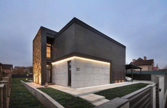 Fachadas de casas modernas 2018 de 70 fotos ecoraideas for Fachadas exteriores modernas