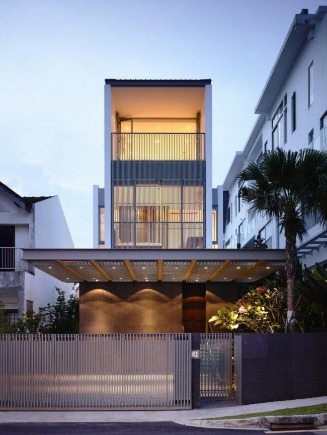 fachadas de casas modernas 2017 de 70 fotos para inspirarse