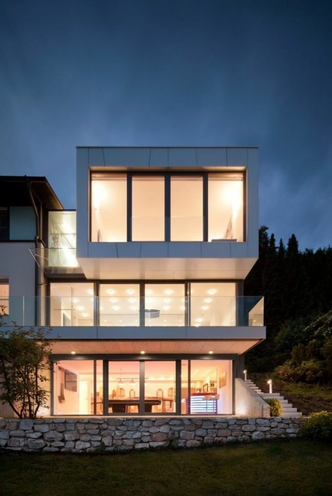 Fachadas de casas modernas 2018 de 70 fotos ecoraideas for Fachadas de casas minimalistas 2016