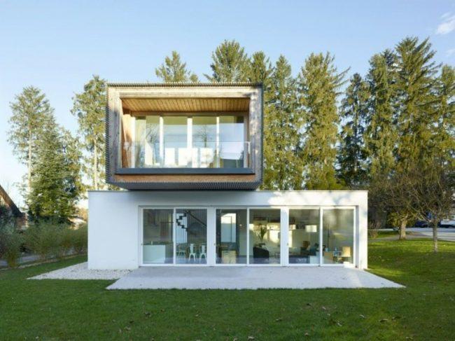 iluminacin de fachadas modernas