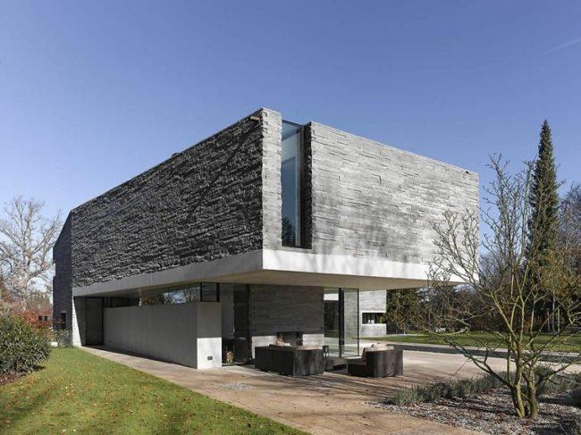 Materiales fachadas cheap materiales para fachadas exteriores con materiales para fachadas - Materiales para fachadas exteriores ...