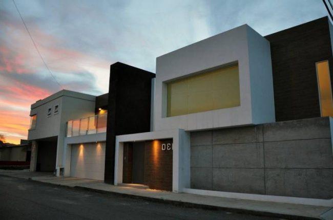 Fachadas de casas modernas 2019 de 70 fotos for Fachadas de casas elegantes modernas