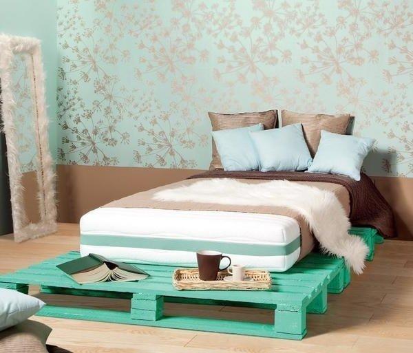 Muebles con palets 130 ideas de mesas sillones sof s - Tarimas para camas ...