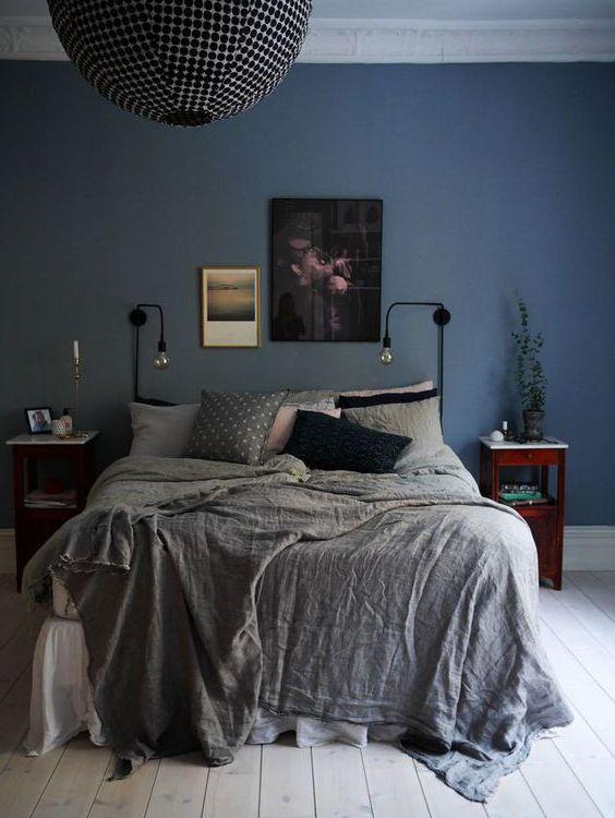 decoraci n de dormitorios 2018 tendencias y 130 fotos ecoraideas. Black Bedroom Furniture Sets. Home Design Ideas