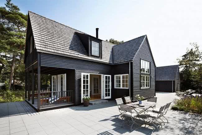 Colores para exteriores y fachadas de casas 2019 ecoraideas for Fachadas de casas modernas para colorear