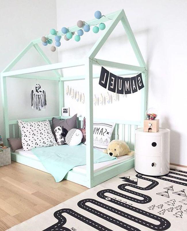 Colores para dormitorios 2018 y 2017 200 fotos con ideas - Colores para habitaciones infantiles ...