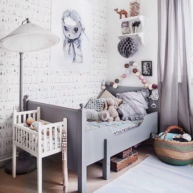 Colores para dormitorios 100 combinaciones perfectas - Habitacion juvenil nina ...