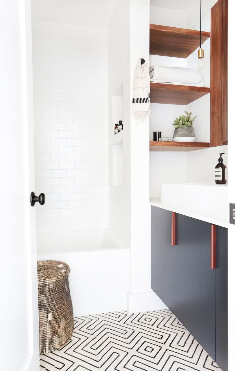 Ba os peque os modernos 2018 80 fotos e ideas de - Modelos de cuartos de bano pequenos ...