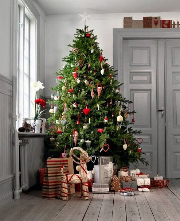 la decoracin estilo escandinava viene ganando terreno ao tras ao y la navidad no es la excepcin esta es una tendencia que vemos cada vez con ms