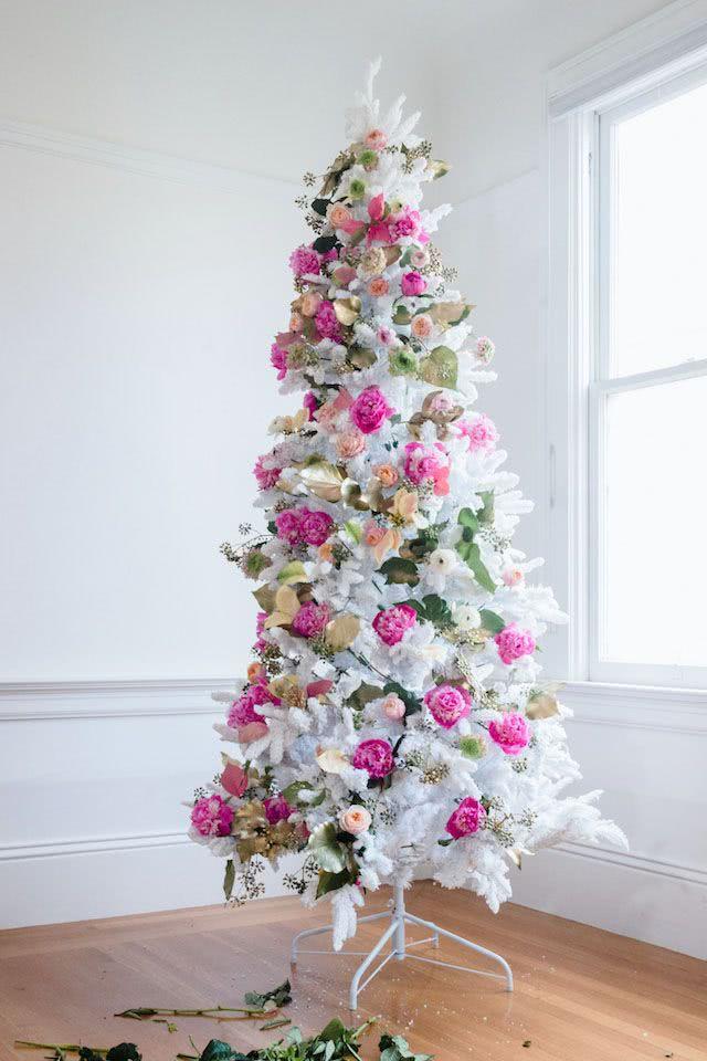 Decoraci n de rboles de navidad 2018 2019 ecoraideas - Decoracion para arboles navidenos ...