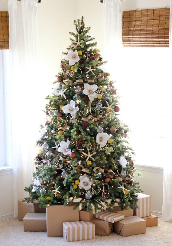 Decoraci n de rboles de navidad 2019 2020 ecoraideas - Como se decora un arbol de navidad ...