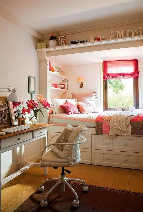 Dormitorios Juveniles Pequenos 40 Fotos E Ideas Decoraideas