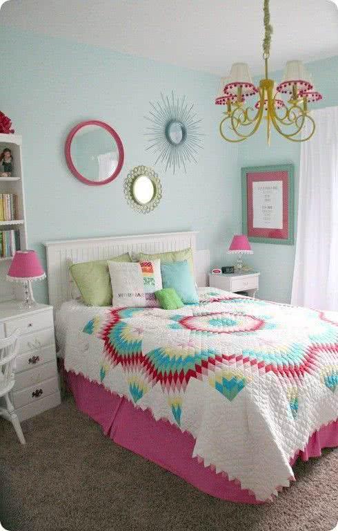 Dormitorios juveniles peque os 40 fotos e ideas ecoraideas for Dormitorios pequenos juveniles