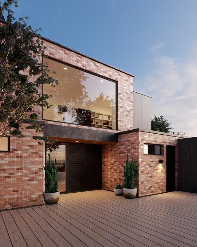 Fachadas de casas modernas 2019 de 70 fotos for Fachadas de casas modernas en italia