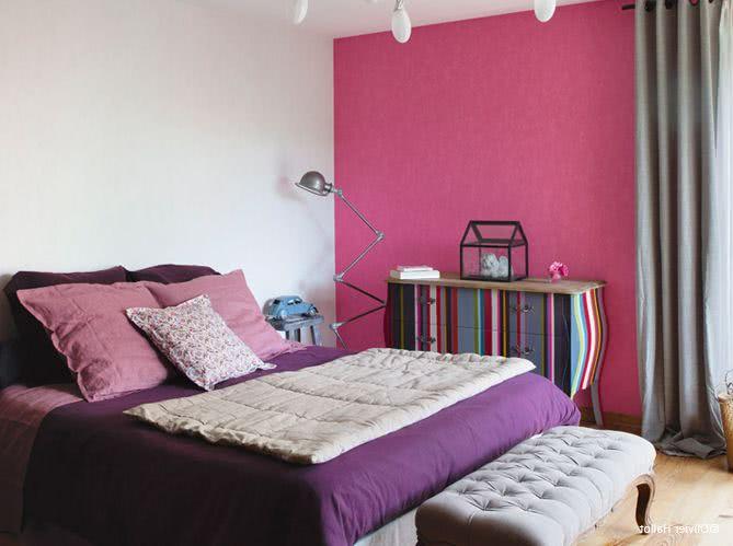 Colores para dormitorios 2019 200 fotos e ideas para for Habitacion rosa para chicas