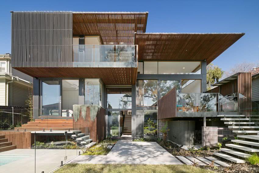 Noticias varaven for Casas decoradas con plantas naturales