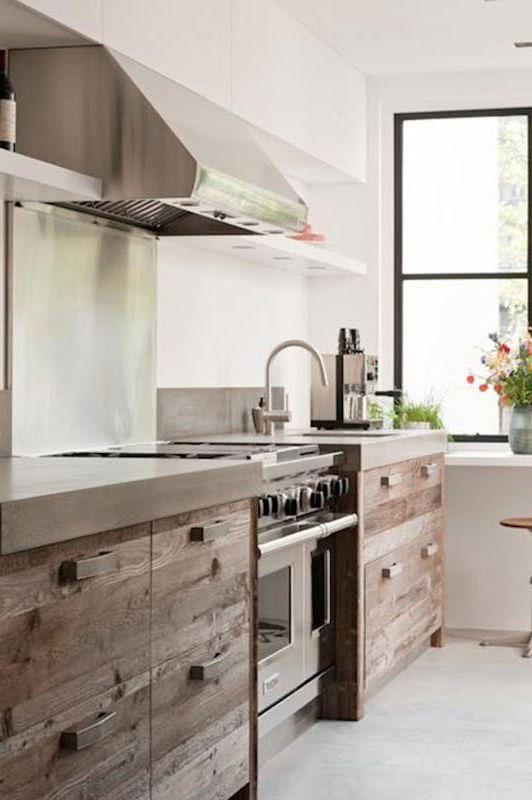 Cocinas de madera 2019 de 80 fotos y tendencias - Cocinas modernas de madera ...