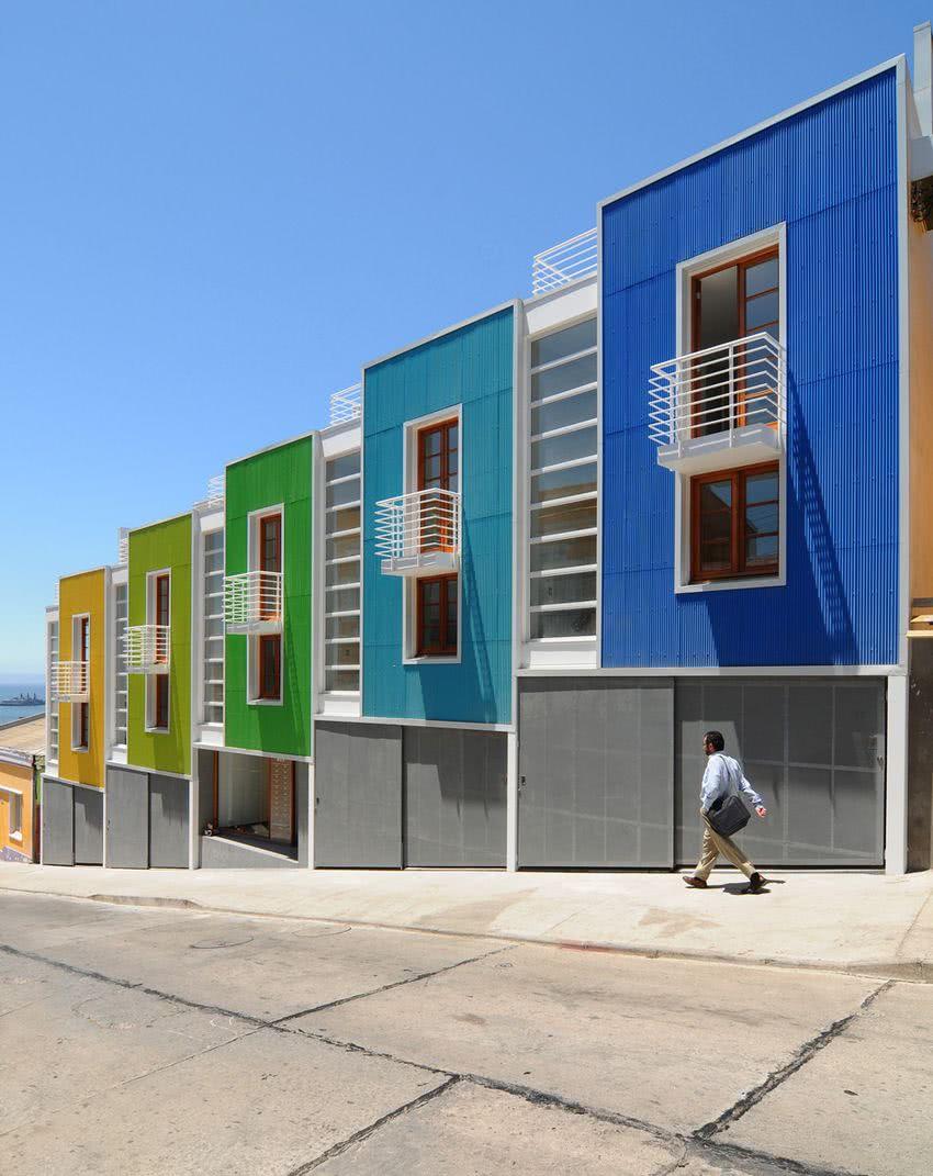 Colores para exteriores y fachadas de casas 2019 ecoraideas - Casas exteriores ...