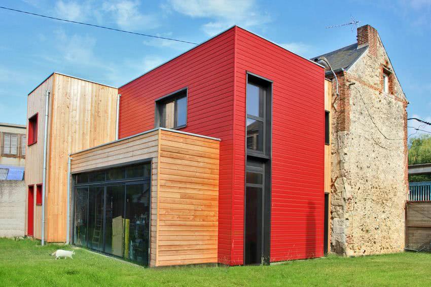 Colores para exteriores y fachadas de casas 2019 ecoraideas - Pintado de fachadas ...