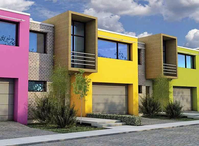 Colores para exteriores y fachadas de casas 2019 ecoraideas for Colores para casas exteriores 2015