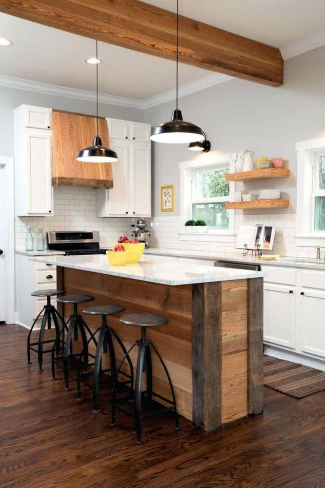 Cocinas de madera 2020 + de 80 fotos y tendencias