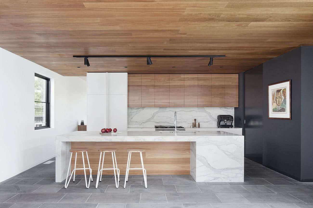 Cocinas de madera 2020 2019 + de 80 fotos y tendencias