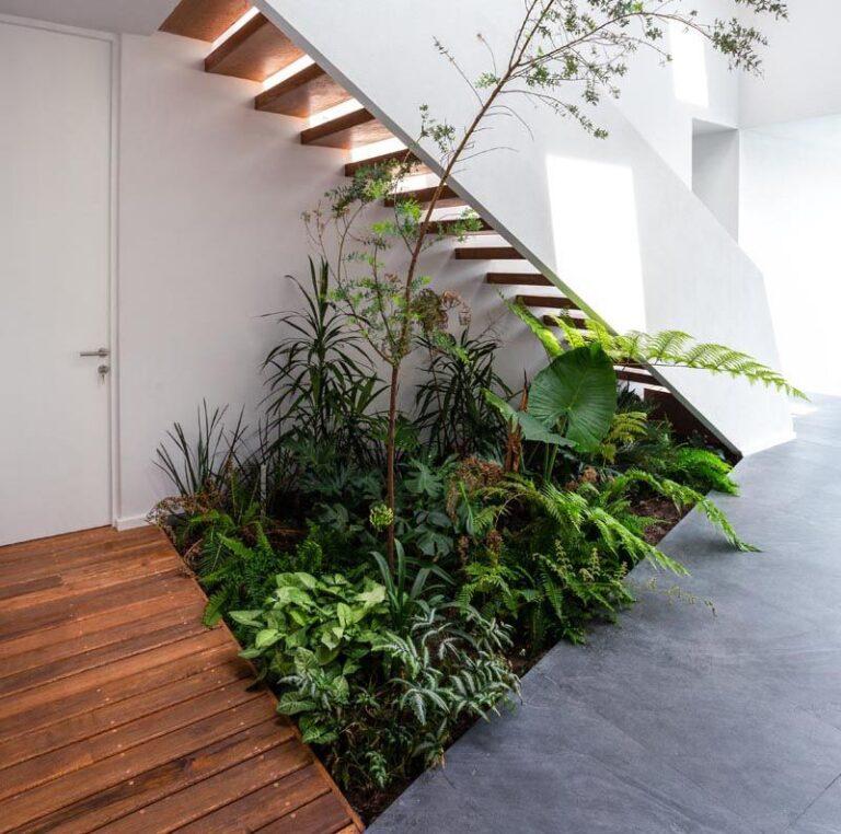 Jardines interiores modernos